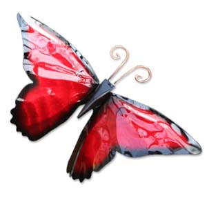 Enameled Copper Butterfly