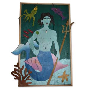 Merman Wall Hanging